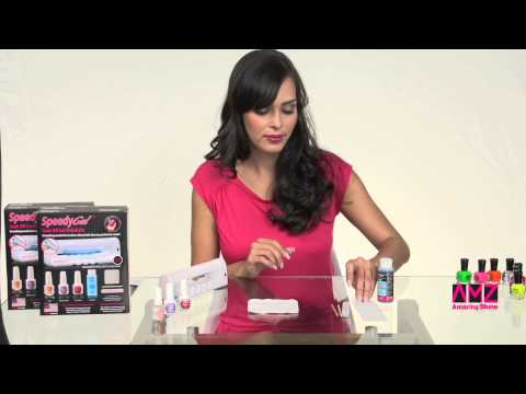 SpeedyGel Soak Off Gel Polish Kit Part I in English