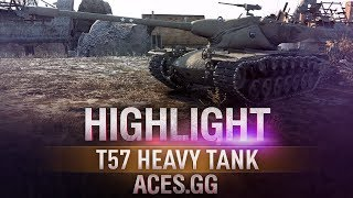 Барабан по-американски! T57 Heavy Tank
