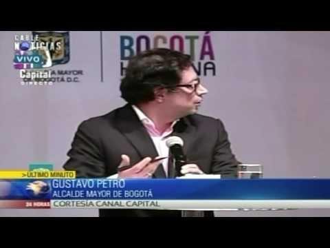 Así reaccionó el alcalde de Bogotá, Gustavo Petro tras ser destituido