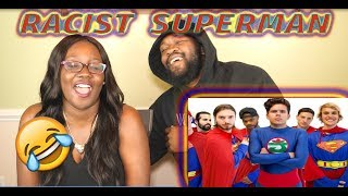 Racist Superman | Rudy Mancuso, Alesso & King Bach Reaction