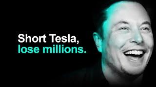 Tesla Stock Helps Billionaire Short Seller Become Millionaire