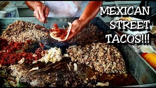 MEXICAN STREET TACOS!!! - ORIGINAL MEXICAN FOOD - MUKBANG AT IT'S BEST!!