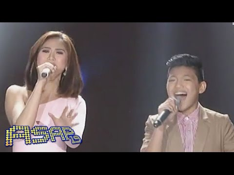 Sarah G., Bamboo sing with Darren & Lyca on ASAP