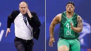 'Run Rich Run': Rich Eisen vs. top prospects