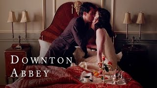 Lady Mary's Romance with Lord Gillingham | Downton Abbey | Season 5