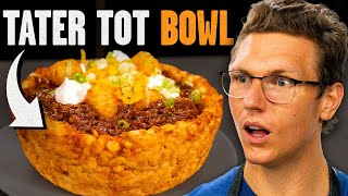 We Made A Tater Tot Chili Bowl