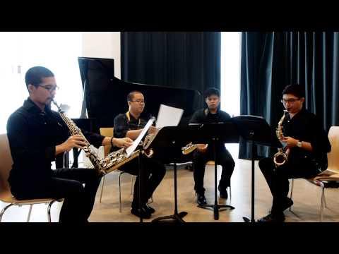 Illegal for Saxophone Quartet by Piyawat Louilarpprasert