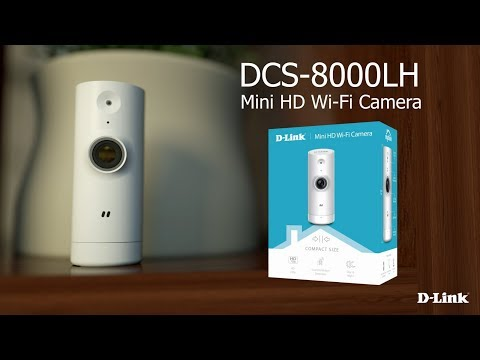On top of its small size, the D-Link Mini HD Wi-Fi Camera has all the features necessary for monitoring a home.