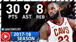 LeBron James Full Highlights vs Bucks (2017.11.07) - 30 Pts, 9 Ast, 8 Reb