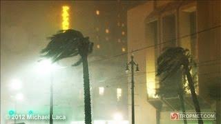 Hurricane ISAAC - New Orleans, Louisiana - August 28-29, 2012