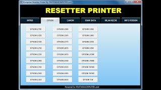 How To Reset Canon G2000 Using Service Tool