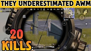 This is why Aim matters soo much in Pubg Mobile - 20 kills with AWM