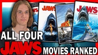 All Four Jaws Movies Ranked From Worst to Best