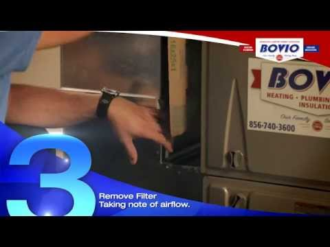 How to Change a Heating and Air Conditioning Filter |  Bovio