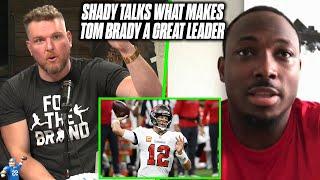 LeSean McCoy Tells Pat McAfee How Tom Brady Changed The Tampa Bay Buccaneers Team
