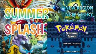 Pokemon Summer Splash with Gen 4-5 New story New Region