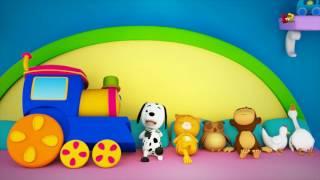 bob der Zug | Zehn im Bett | Baby Reim | Bob The Train | Preschool Song | Ten In The Bed