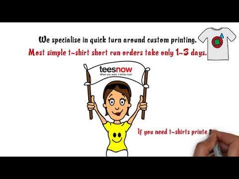 Screen Printing Tshirts