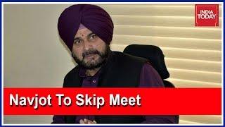 Sidhu to skip cabinet meet of Capt. Amarinder Singh..