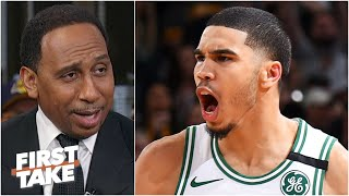 Stephen A.: Imagine if the Lakers drafted Jayson Tatum instead of Lonzo Ball! | First Take