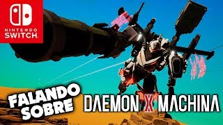 Falando sobre DAEMON X MACHINA