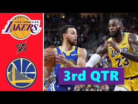 Los Angeles Lakers vs. Golden State Warriors Full Highlights 3rd Quarter | NBA Season 2021