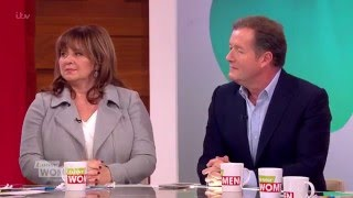 Piers Morgan On His Wife And Daughter | Loose Women