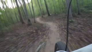 Pocahontas Park Blueberry Hill trail mountain bike jumps