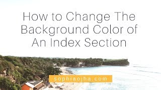057: How to Change Background Color of a Section on Your Squarespace Website