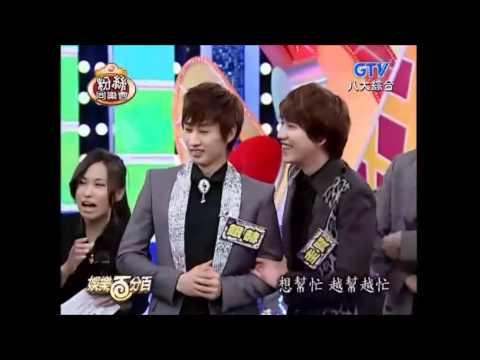 銀赫: 中文像吃飯一樣簡單 + 我中文好你們就完蛋了 + 圭賢: 4年