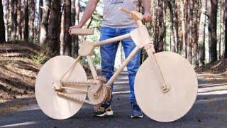Chế tạo siêu môtô Xe Đạp R1 cá trê bằng gỗ | YZF - R1 | nhết tv