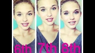 #BackToSchoolBaby~ 6th 7th and 8th Grade Makeup Tutorial!!