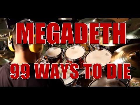MEGADETH - 99 ways to die - drum cover (HD)