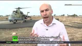Mi-24 gunships guard Russia's anti-ISIS ops hub