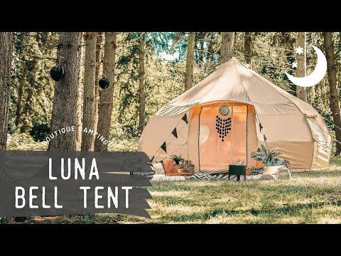 Bell Tent 4m Luna Rundzelt - Sandstone