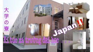 【DU HỌC JAPAN】 JAPAN#Ký túc xá ở 1 trường đại học NHẬT BẢN  như thế nào nhỉ??四国大学の国際寮の内側へ見に行きましょう!