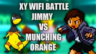 Pokémon X & Y Wifi Battle   Jimmy VS MunchingOrange