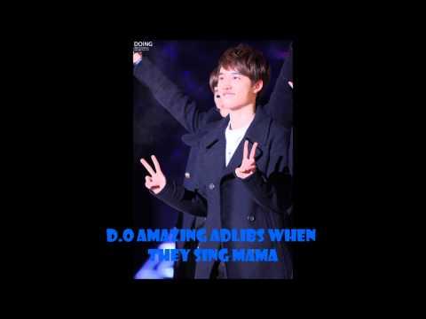 EXO-K D.O Amazing Adlibs for MAMA Demo Version