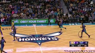 HIGHLIGHTS: Kyle Kuzma at Hornets