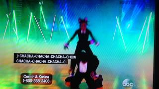 What does the fox say? Dancing with the Stars version