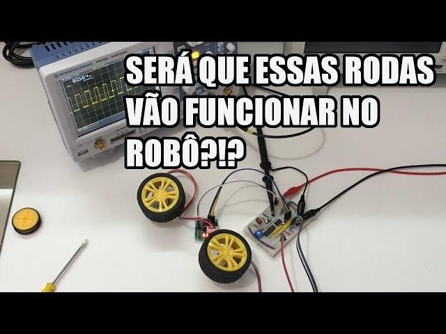 DEFININDO RODAS PARA UM ROBÔ | Usina Robots US-3 #005