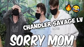 Would you sit in Snakes For $10,000? | Chandler Savage Reply @MrBeast