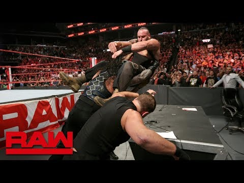 The Shield fait son retour à Raw le 20 août 2018