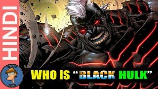 Who Is KLUH The BLACK HULK | The Most Dangerous HULK Origin Explain In Hindi | Cartoon Freaks