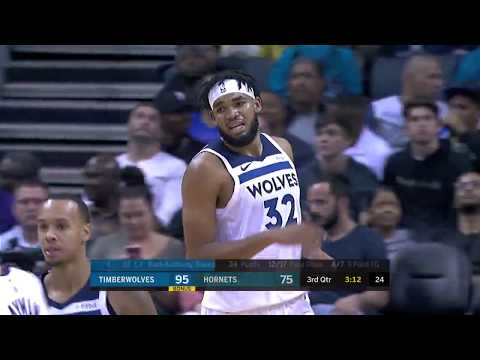 Highlights | Karl-Anthony Towns With 37 Points, 15 Rebounds, 8 Assists vs. Hornets (10.25.19)