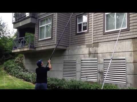 Demo: 5 Story Condo Window Washing