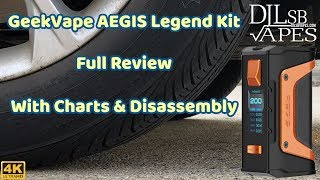 GeekVape AEGIS Legend Kit Review & Giveaway
