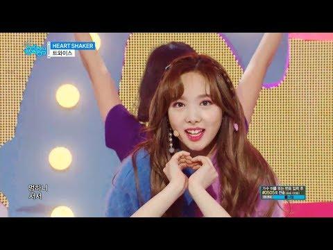 【TVPP】 TWICE -  HEART SHAKER, 트와이스- 하트세이커 @show Music Core