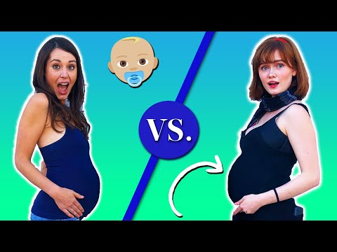 Teen Vs. Adult: Pregnancy Belly Reactions