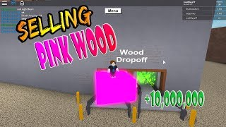 Can You Sell a Pink Car (The Wood Dropoff)! | Lumber Tycoon 2 ROBLOX